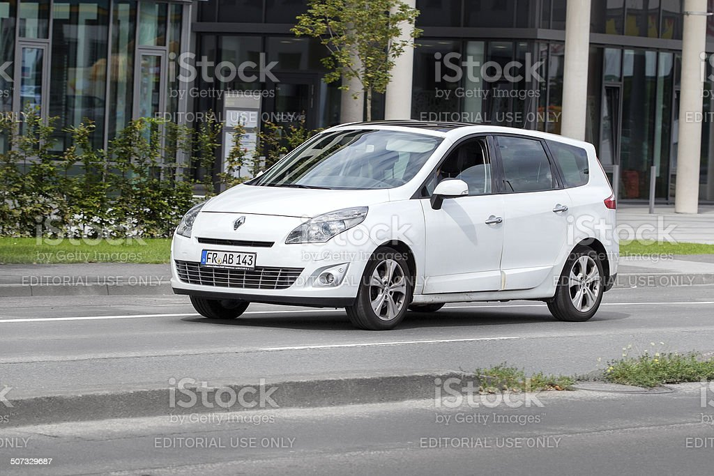 Renault Grand Scenic royalty-free stock photo