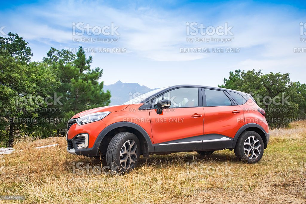 Renault Kaptur, outdoor photo stock photo