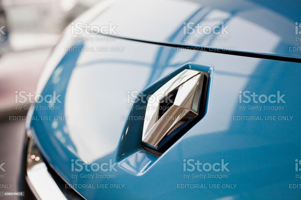 Renault Logo stock photo