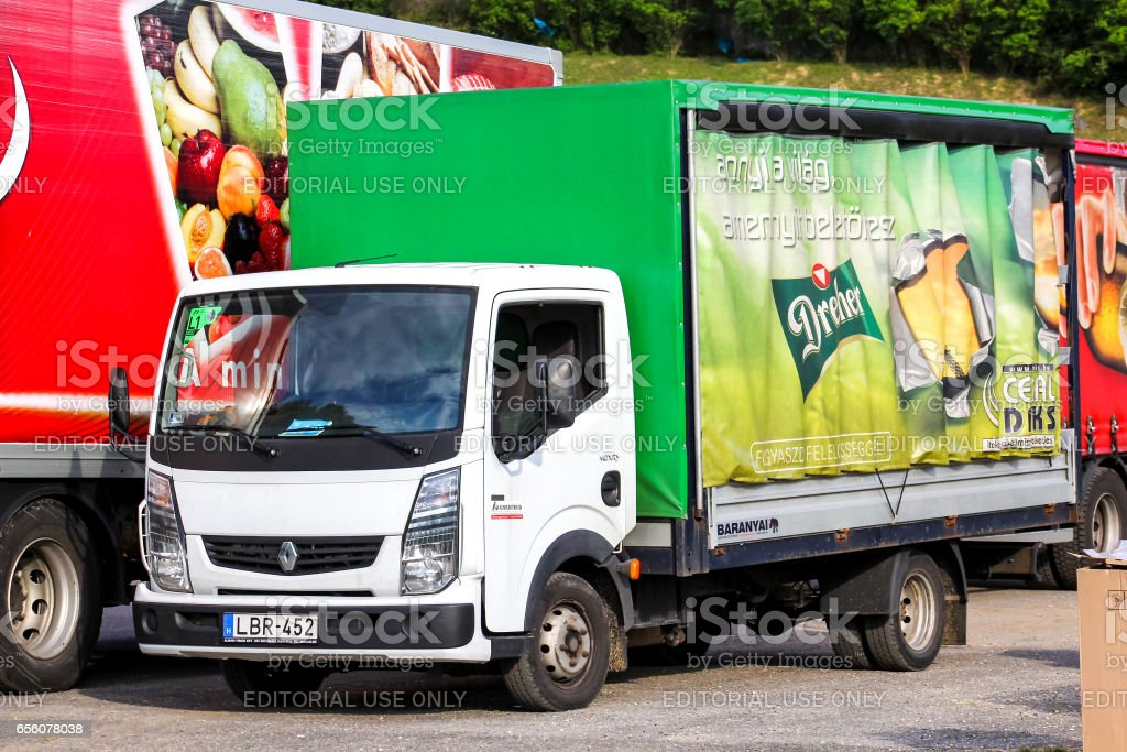 Renault Maxity stock photo