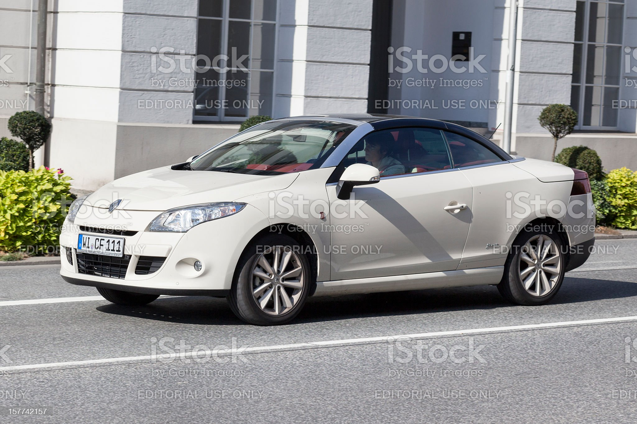 Renault Megane Coupe royalty-free stock photo