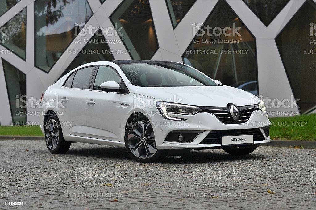 Renault Megane GrandCoupe stock photo