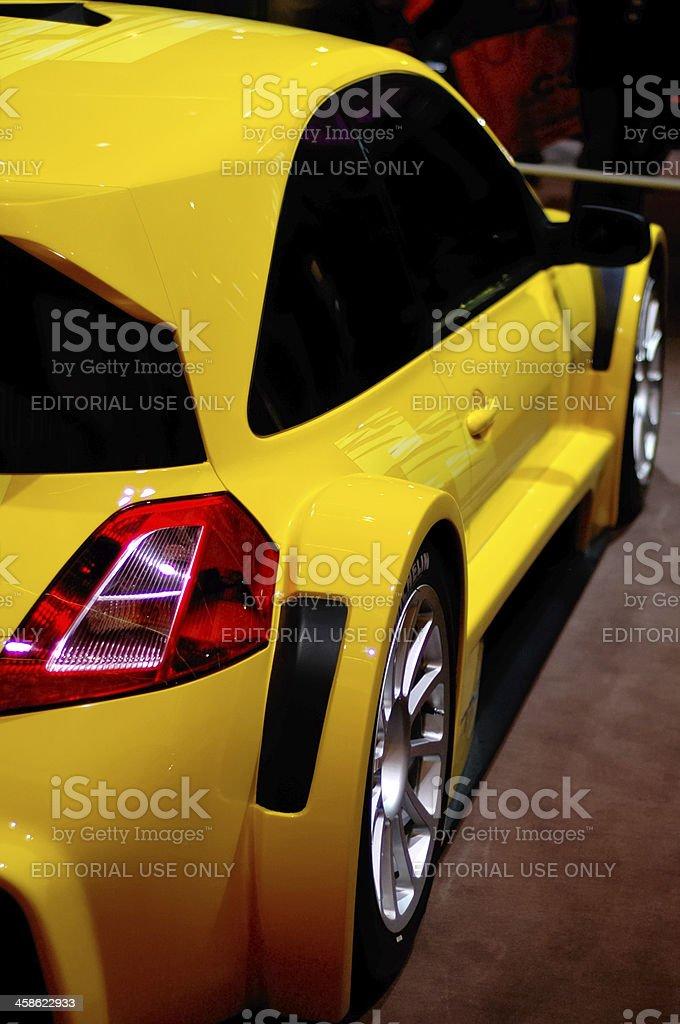 Renault Megane RS stock photo