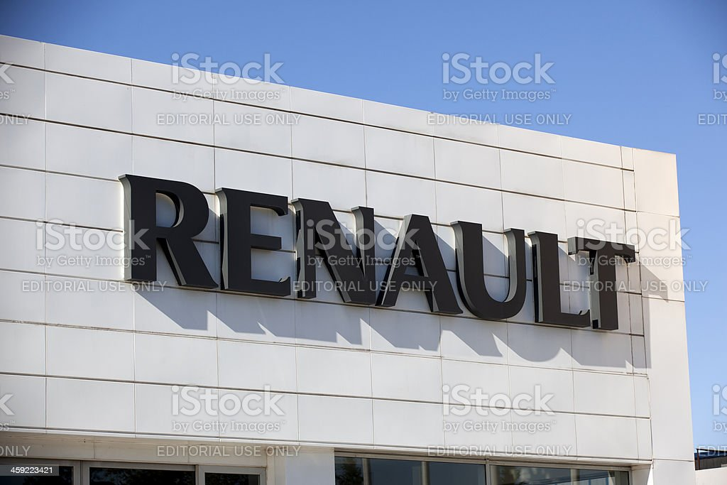 Renault Motors stock photo