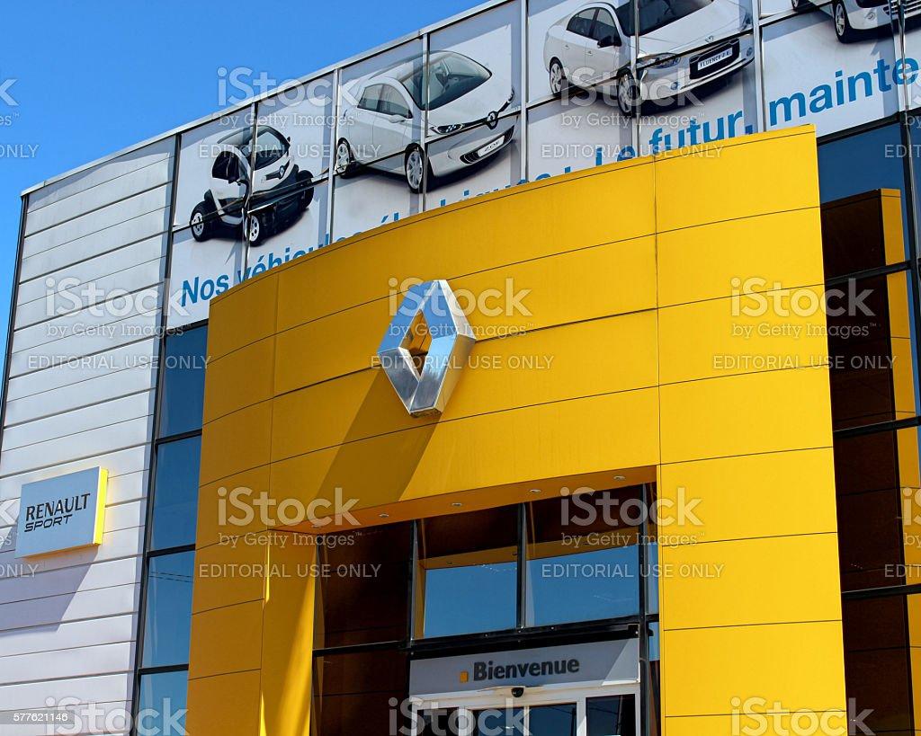 Renault stock photo