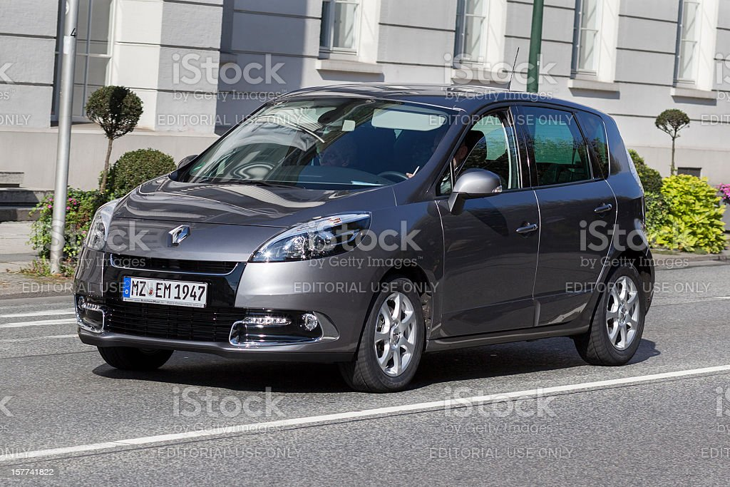 Renault Scenic III royalty-free stock photo