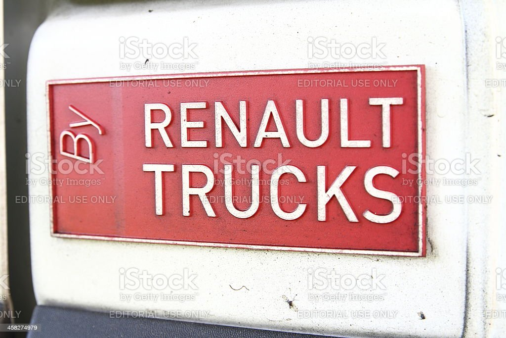 Renault Trucks product royalty-free stock photo
