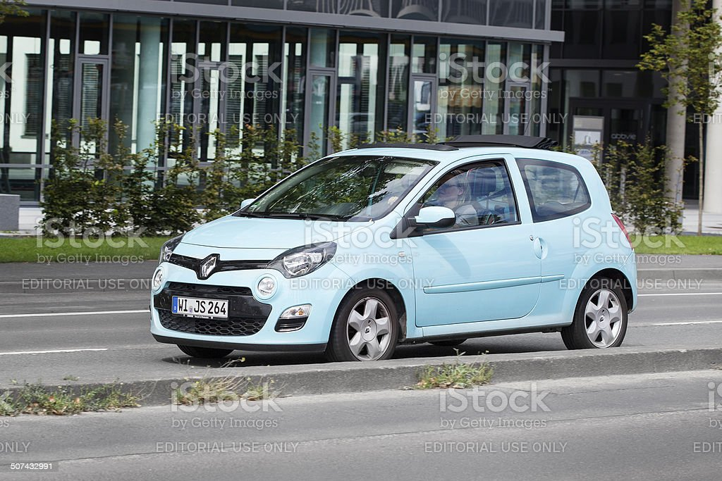 Renault Twingo facelift 2012 royalty-free stock photo