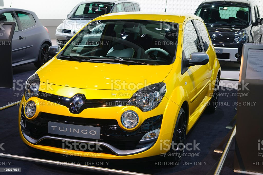 Renault Twingo RS royalty-free stock photo