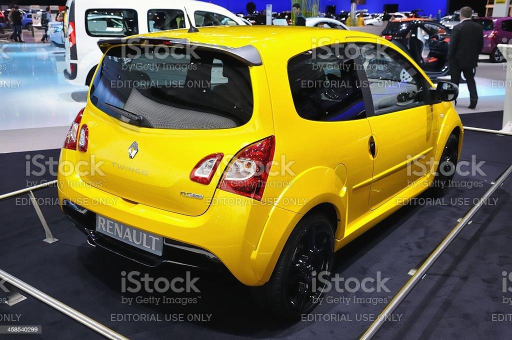 Renault Twingo RS stock photo