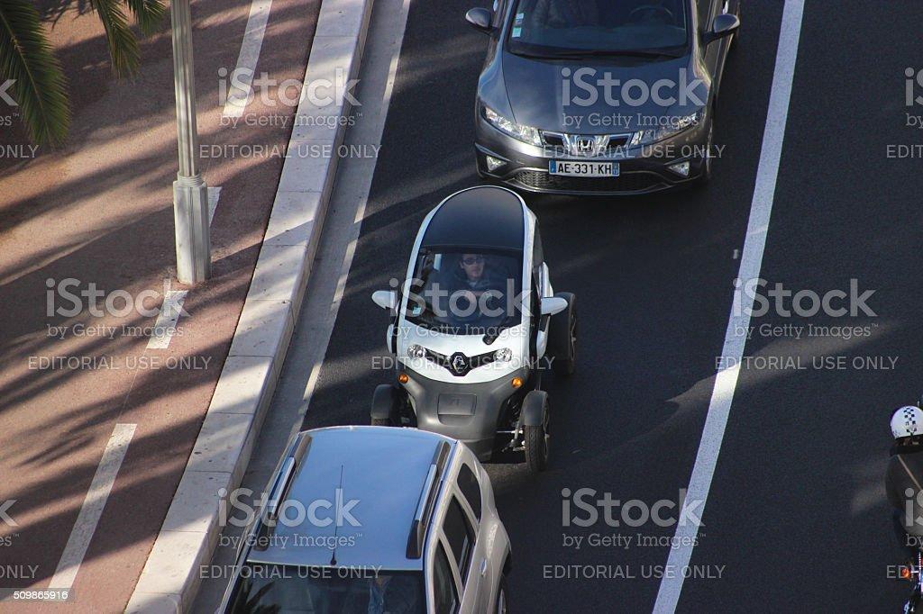 Renault Twizy stock photo