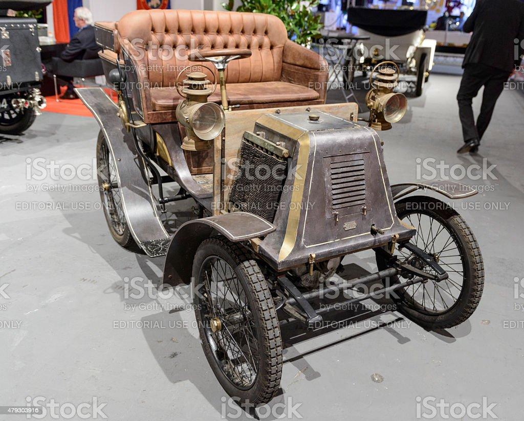 1901 Renault Type D vintage car stock photo