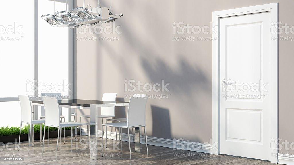 Render intérieur moderne photo libre de droits
