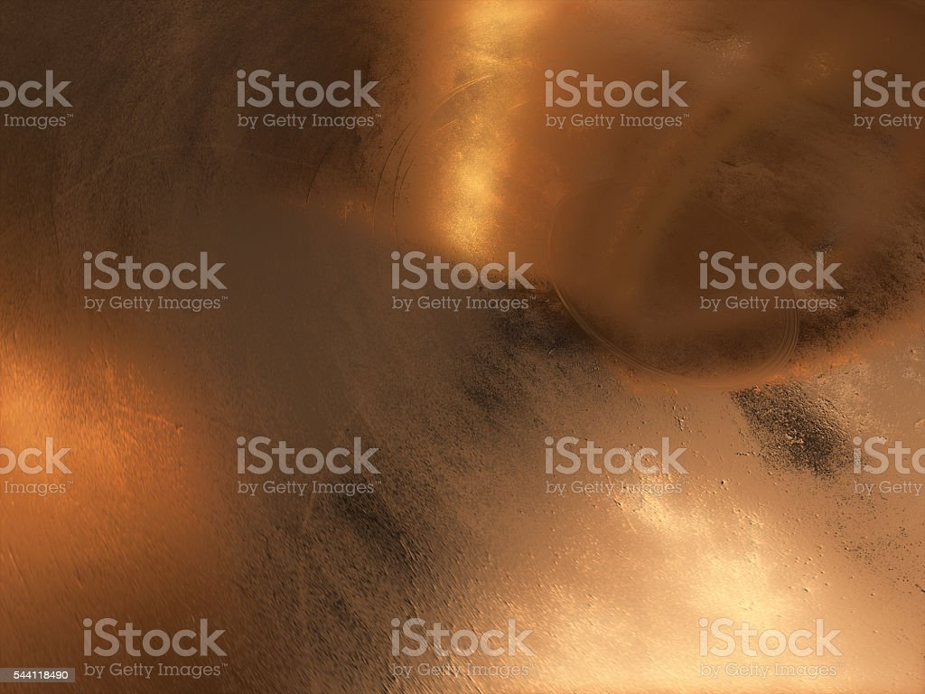 3D render of Abstract gold background royalty-free stock photo