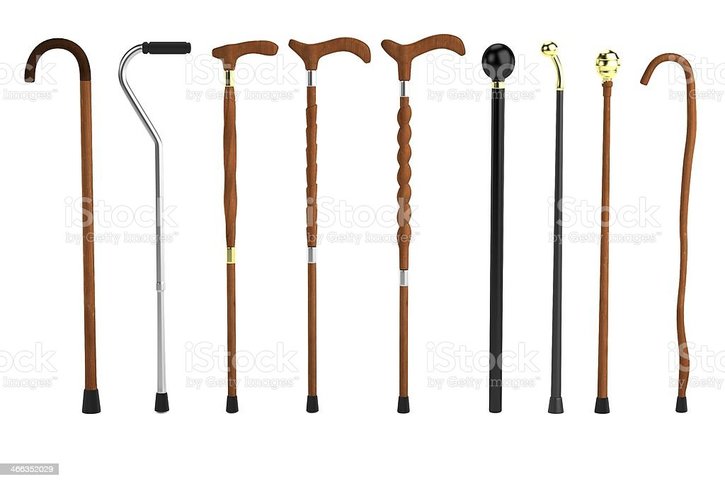 render of canes stock photo