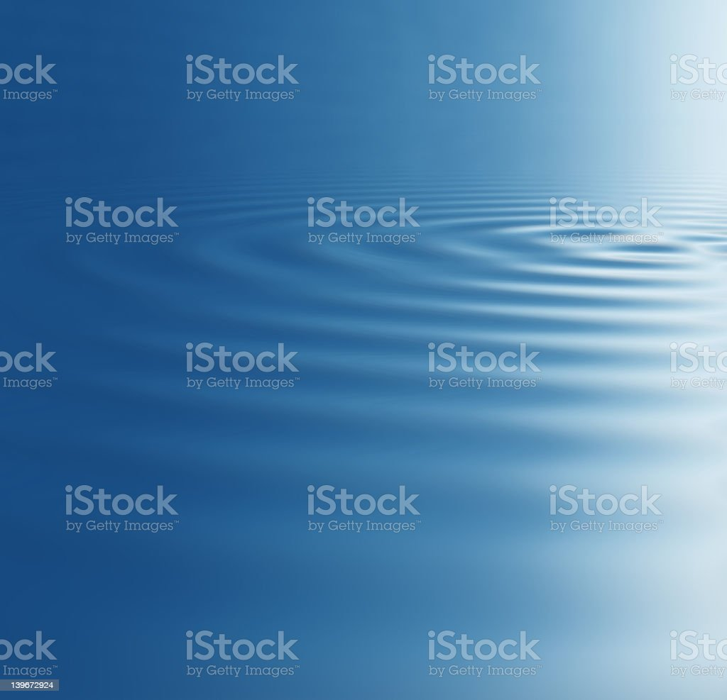 Rendered picture of a waves royalty-free stock photo