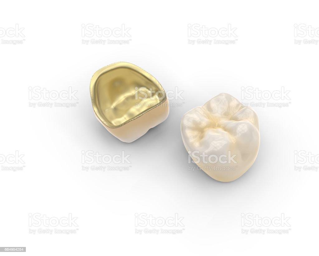 3D rendering dental background stock photo