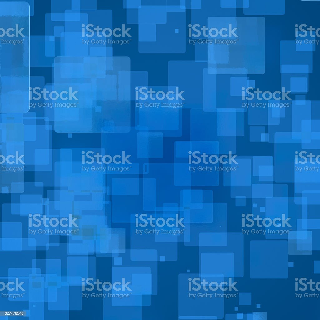 3D rendering of cube abstract background stock photo
