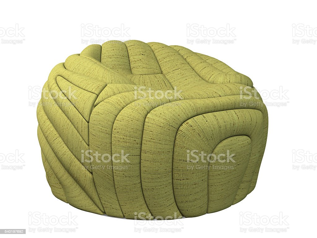 3D rendering ottoman stock photo