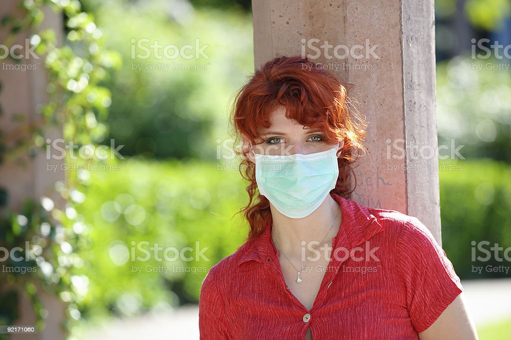 Rendevous with Swine Flu royalty-free stock photo