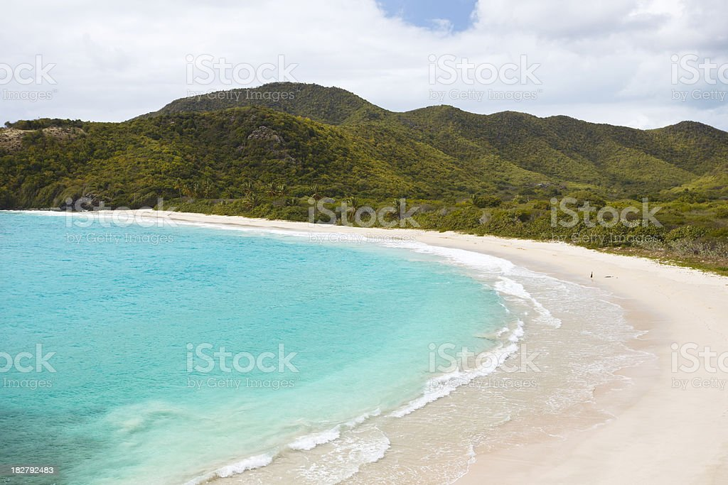 Rendezvous Bay, Antigua royalty-free stock photo