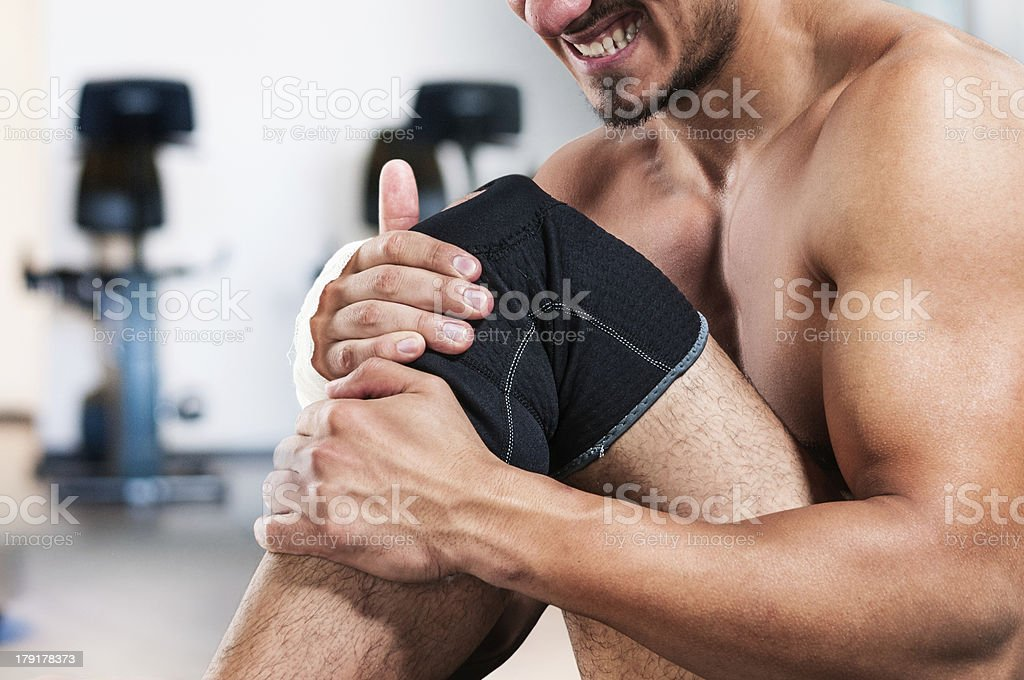 Renew injury stock photo