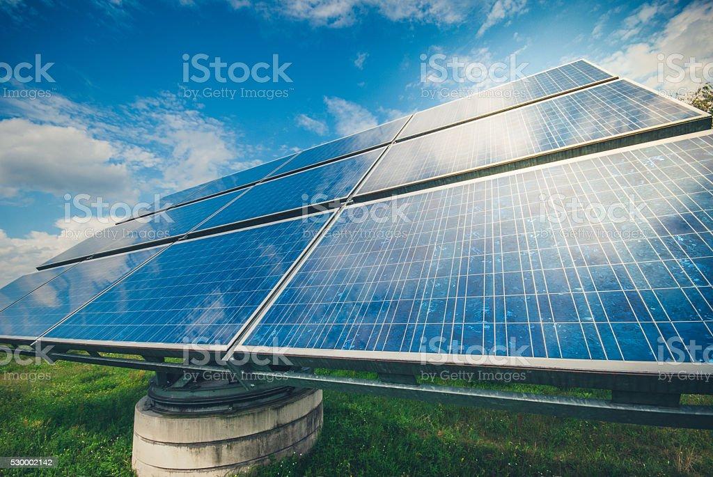 Renewable Energy - Solar Panel royalty-free stock photo