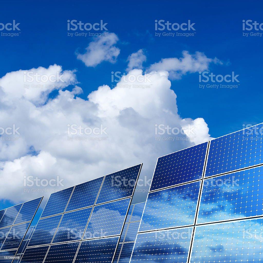 Renewable Energy - Solar Panels (XXL) stock photo