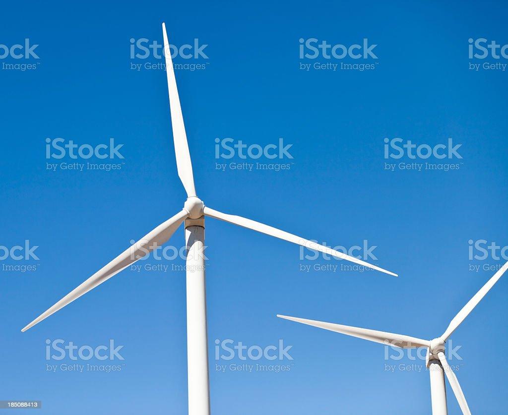 Renewable Energy - Windmills royalty-free stock photo