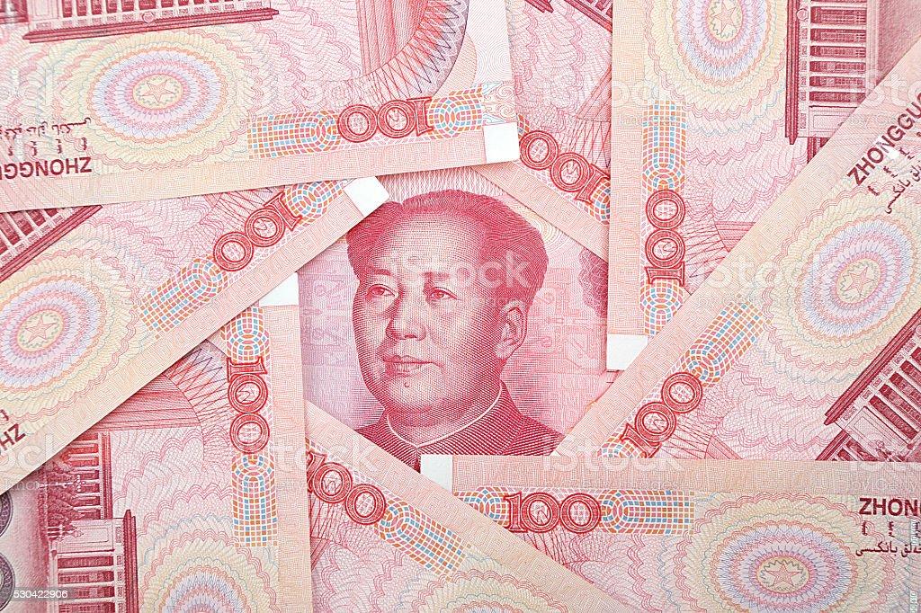 Renminbi Mao Zedong stock photo