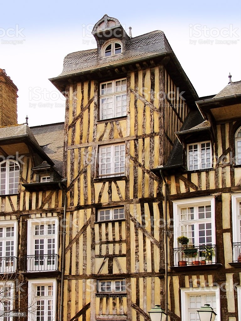 rennes royalty-free stock photo