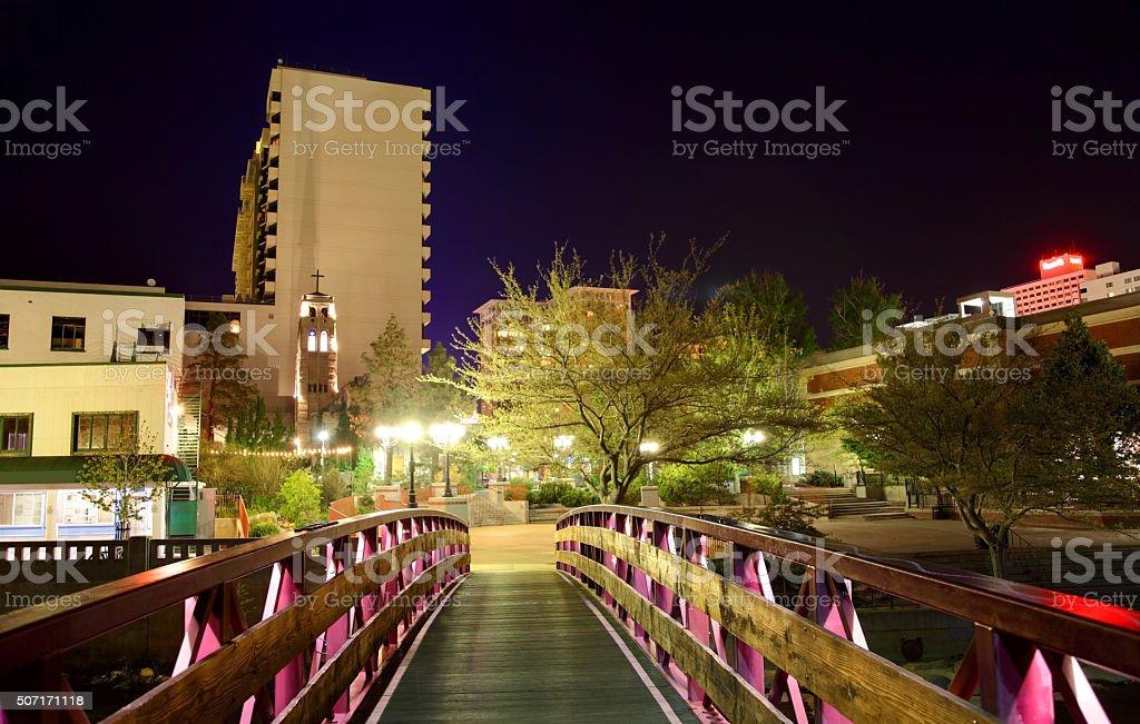 Reno Nevada stock photo