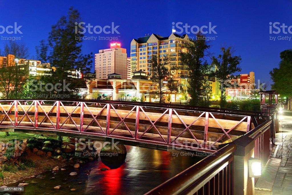 Reno, Nevada stock photo