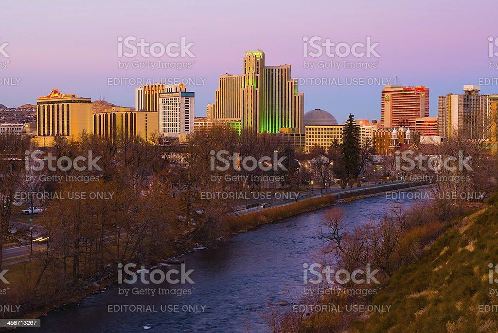 Reno stock photo