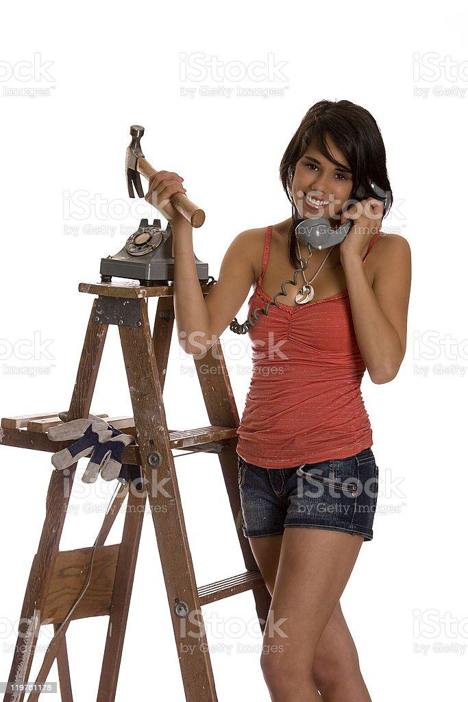Renovation advice royalty-free stock photo