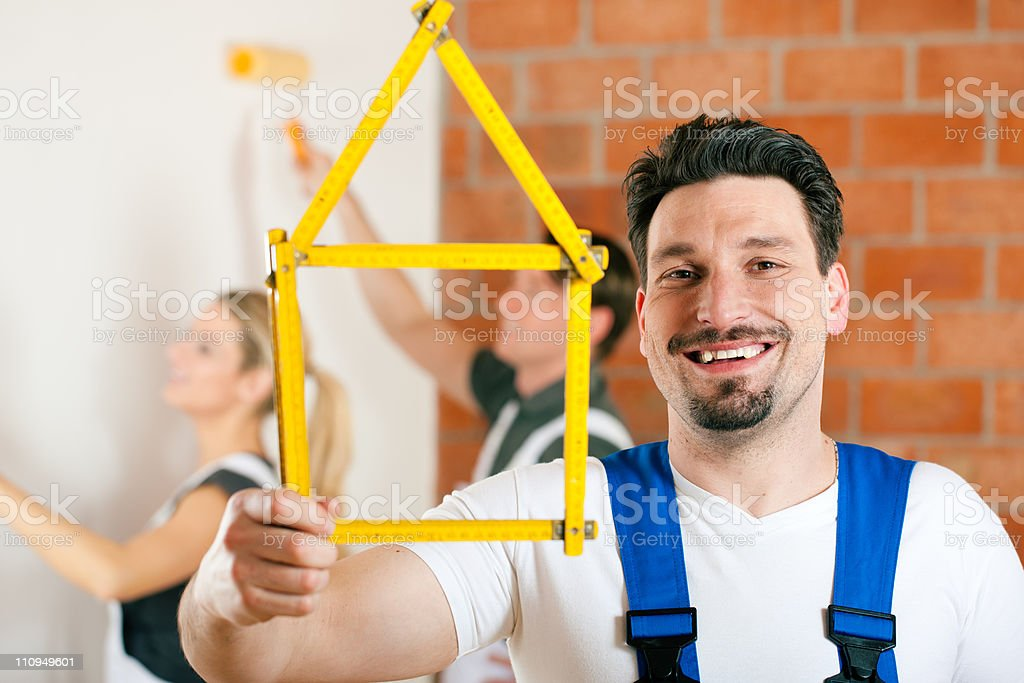 Renovation of an apartment royalty-free stock photo