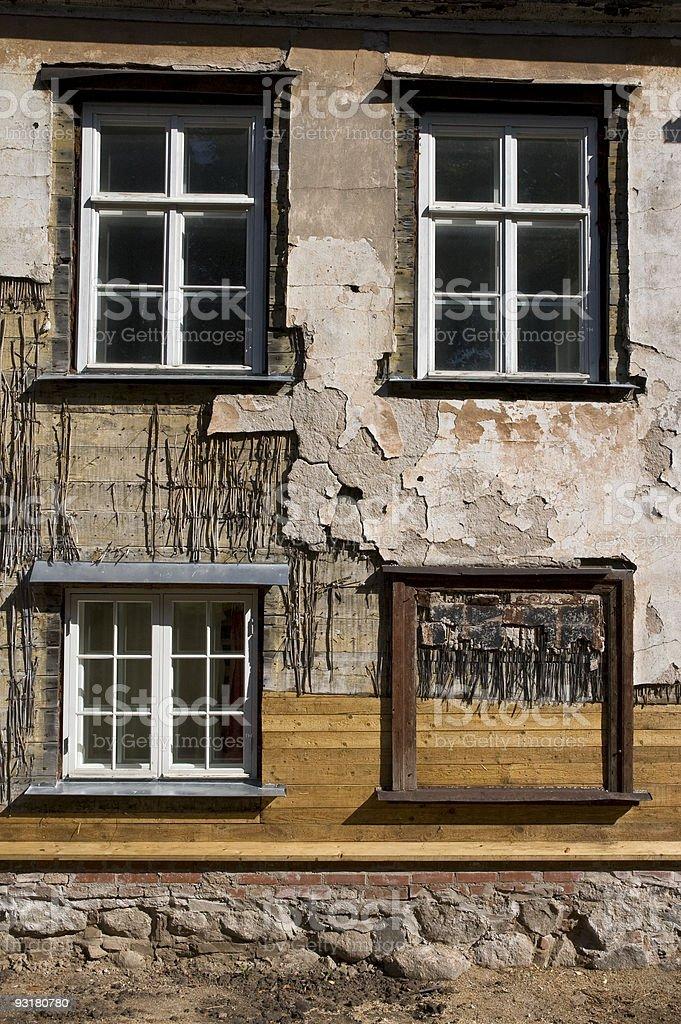 renovation old house royalty-free stock photo