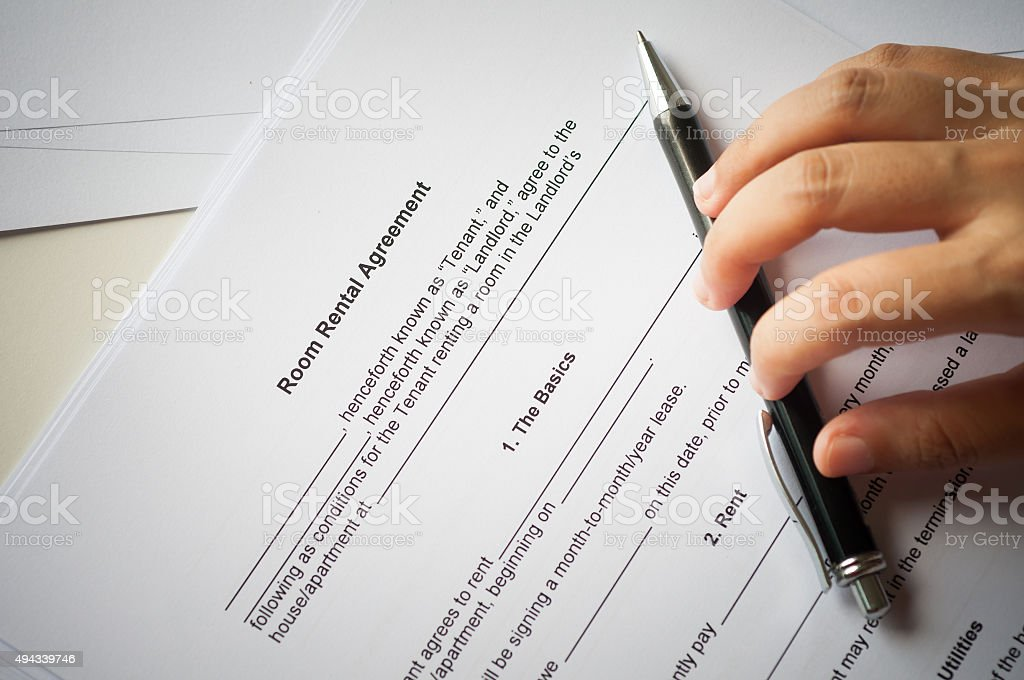 Rental Agreement Stock Photo 494339746 Istock