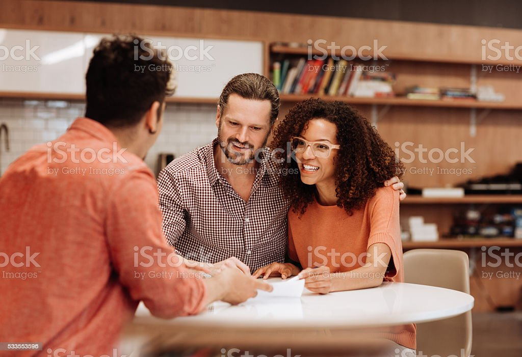 Renting fast stock photo