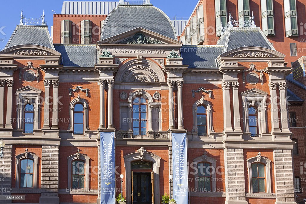Renwick Gallery - Smithsonian museum, Washington DC royalty-free stock photo