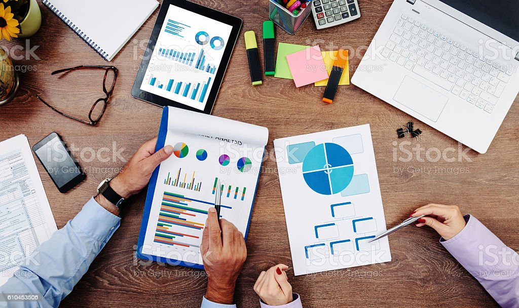 Reorganization of human resource for higher efficiency stock photo