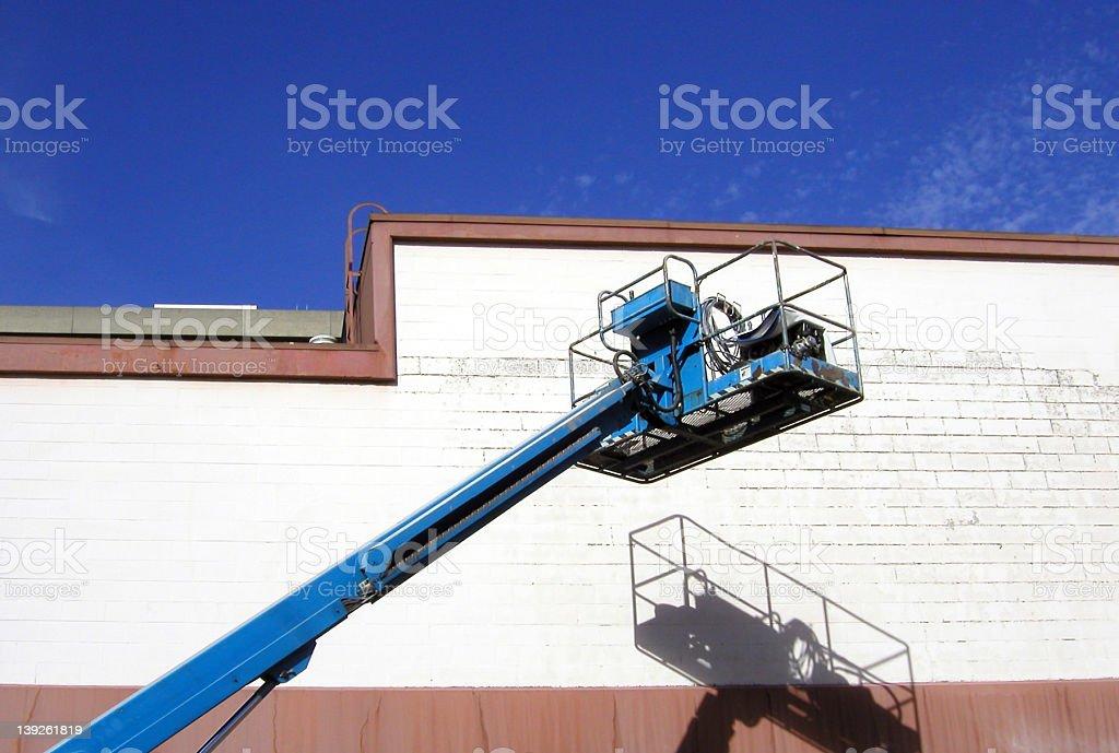 Repair crane stock photo
