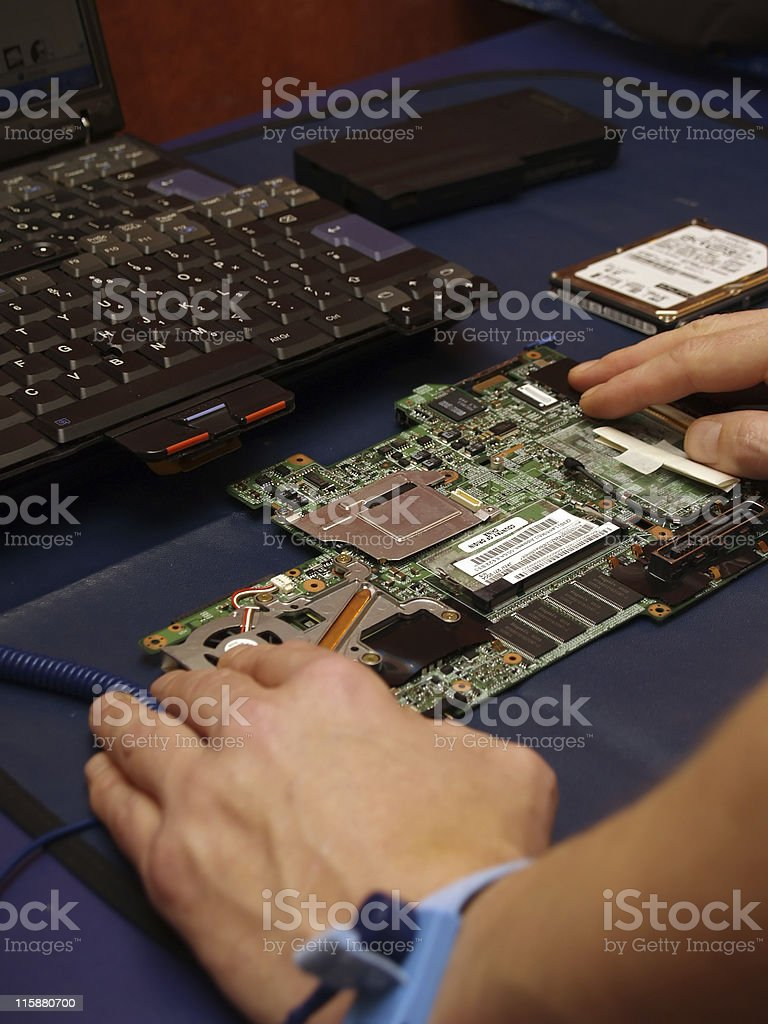 Repair Engineering stock photo