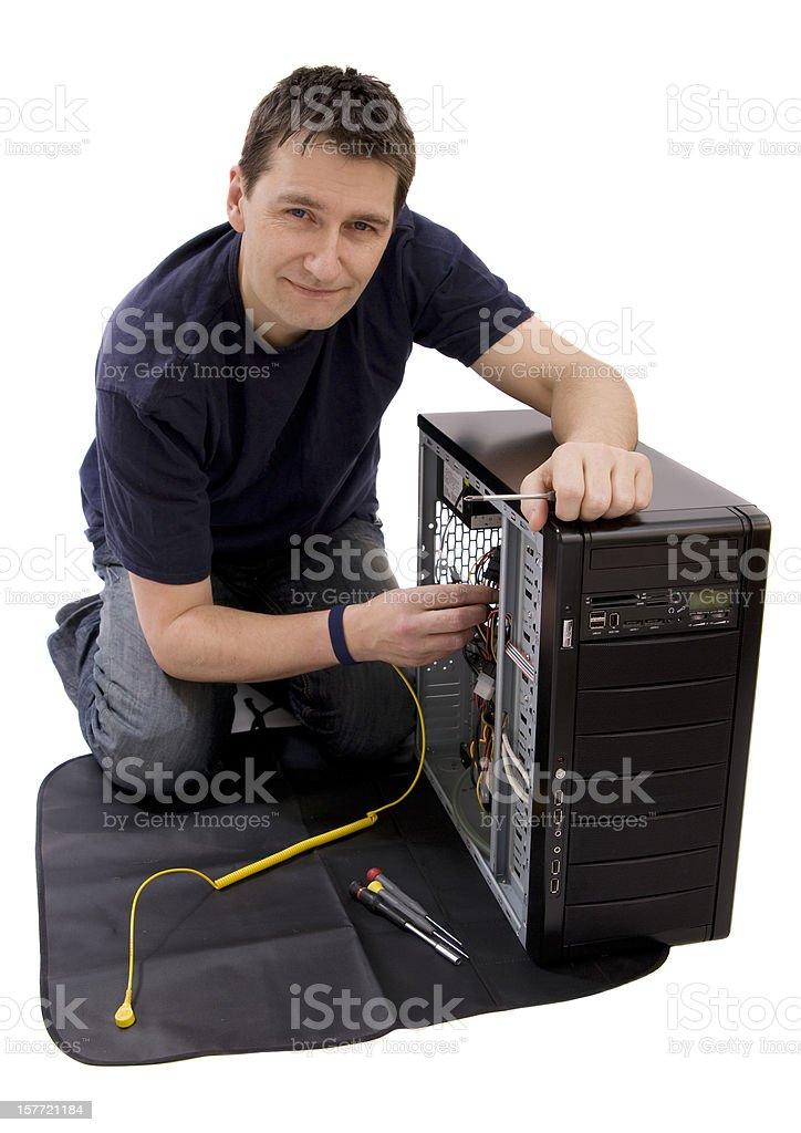 Repair Guy stock photo