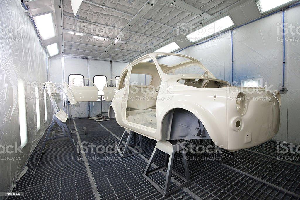 Repair Vintage Car stock photo
