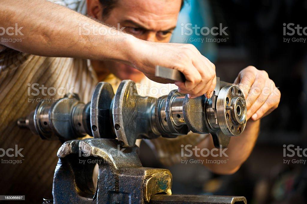 repairer stock photo