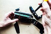 repairing Camera