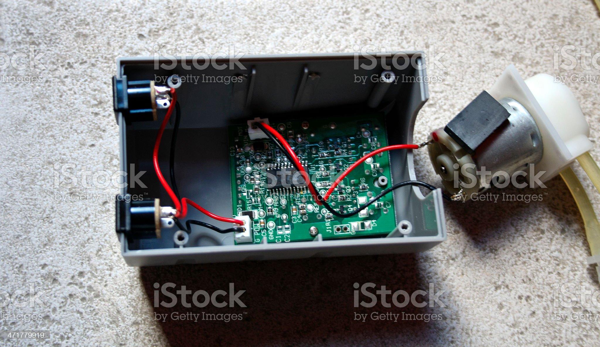 Repairing elecrtonics royalty-free stock photo