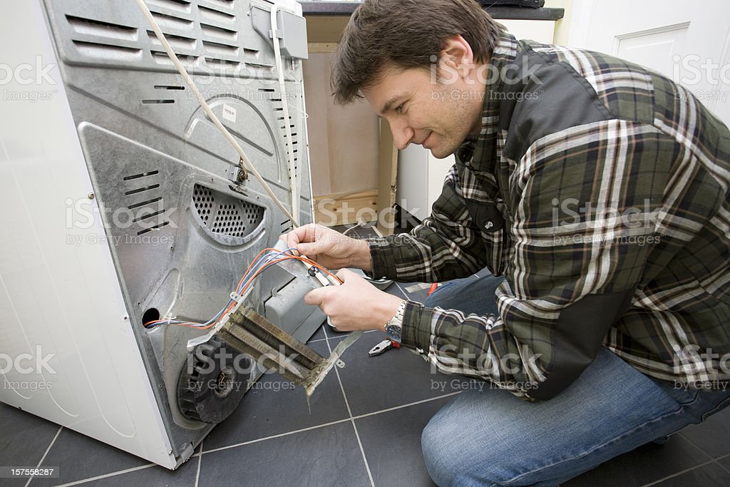 Repairman royalty-free stock photo
