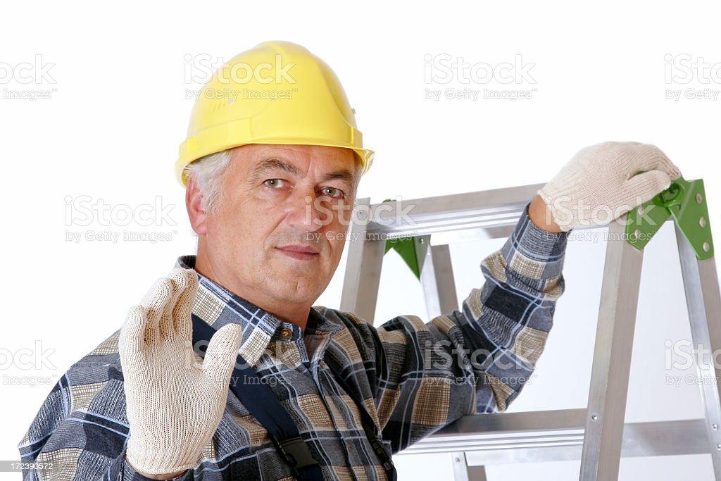 Repairman royalty-free stock photo